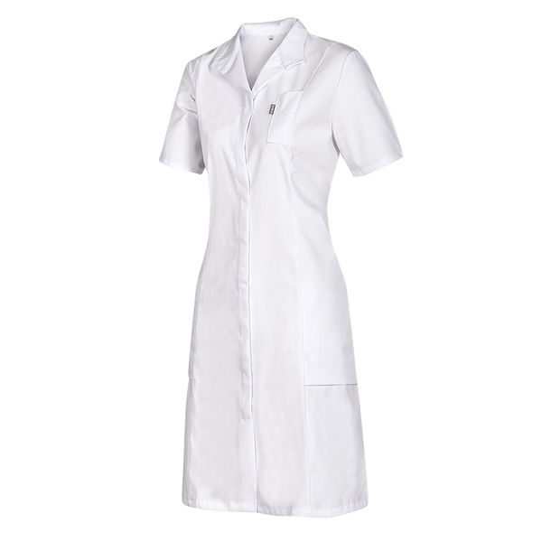 Bílé zdravotnické šaty SPICA