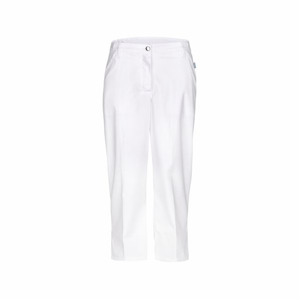 Capri kalhoty dámské, bílé VULPECULA