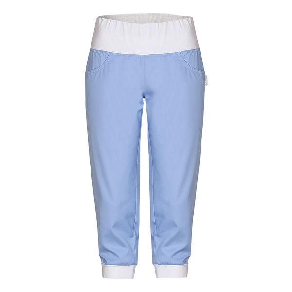 Dámské 3/4 kalhoty s úpletem v pase i nohavicích VEGA