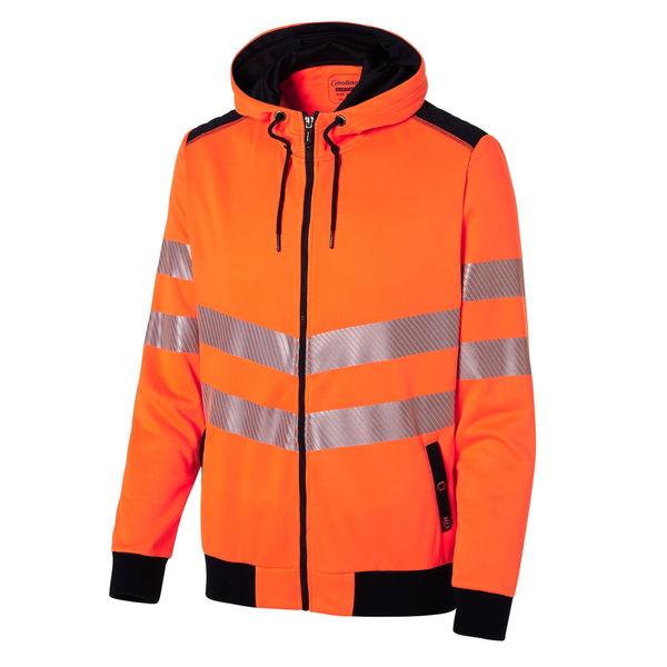 Hi-Vis bunda na zip a s kapucí 4829999094