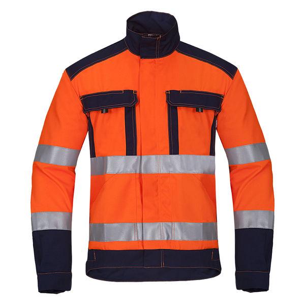 Pracovní bunda s 2 reflexními pruhy LUMEN