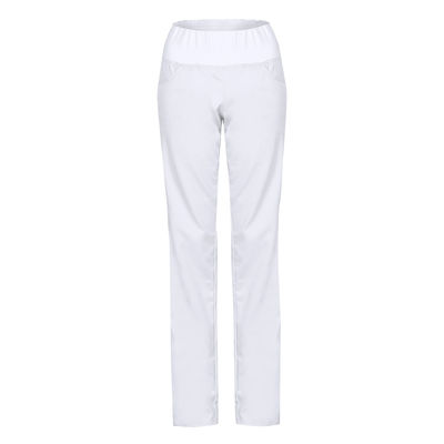 Dámské kalhoty s úpletem v pase a kapsami LEPUS