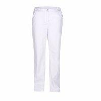 Lékařské kalhoty dámské, bílé LACERTA